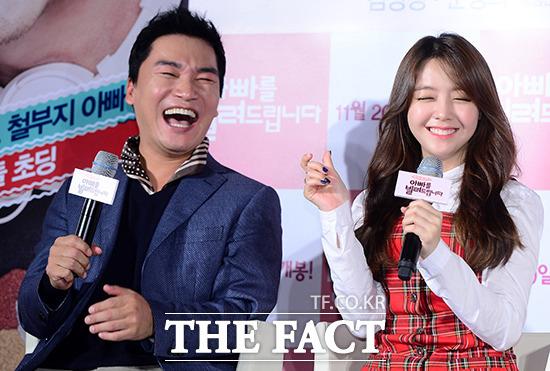 本人のリアルな表情に笑いが弾けるチョ・ジェユン