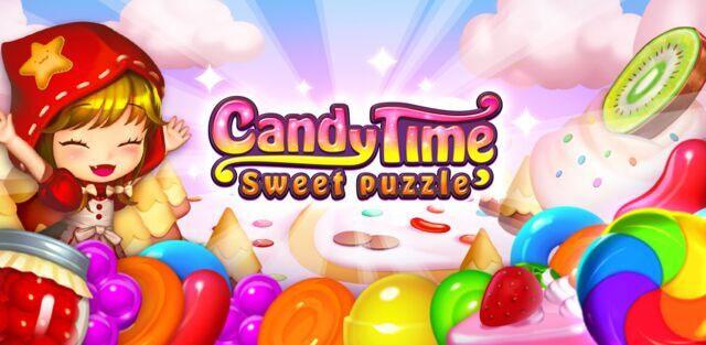 『キャンディタイム:スイートパズル』 iOS版の正式サービス開始!